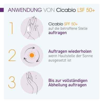 Bioderma Cicabio Wundpflegecreme Spf 50+  bei juvalis.de bestellen