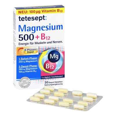 Tetesept Magnesium 500+b12 Depot Tabletten  bei juvalis.de bestellen