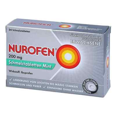 Nurofen 200 mg Schmelztabletten Mint  bei juvalis.de bestellen