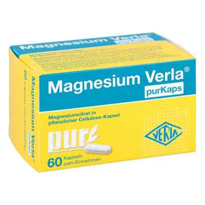 Magnesium Verla purKaps vegane Kapseln zum Einnehmen  bei juvalis.de bestellen