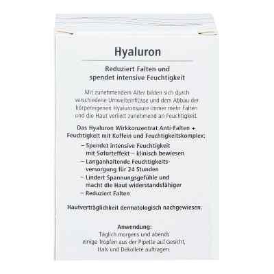 Hyaluron Wirkkonzentrat Anti-falten+feuchtigkeit  bei juvalis.de bestellen