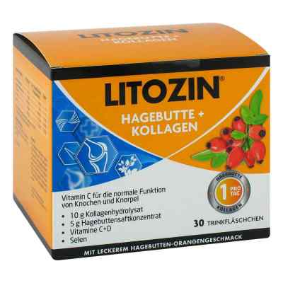 Litozin Hagebutte+kollagen Trinkfläschchen  bei juvalis.de bestellen