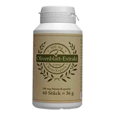 Olivenblatt Extrakt 500 mg Mono-kapseln  bei juvalis.de bestellen