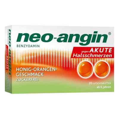 Neo Angin Benzydamin akute Halsschmerz.honig-oran.  bei juvalis.de bestellen
