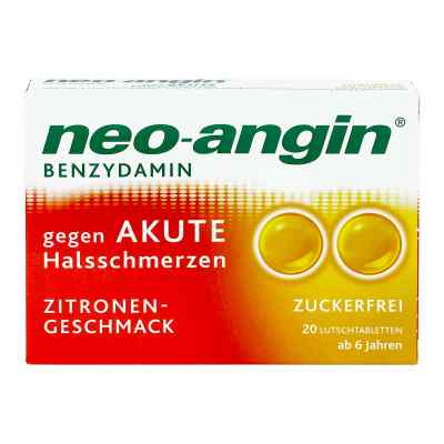Neo Angin Benzydamin akute Halsschmerzen Zitrone  bei juvalis.de bestellen