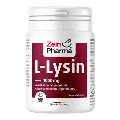 L-lysin 1000 mg Zitrone Kautabletten  bei juvalis.de bestellen