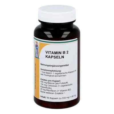 Vitamin B2 20 mg Riboflavin Kapseln  bei juvalis.de bestellen