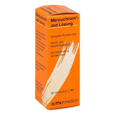 Mercuchrom Jod Lösung  bei juvalis.de bestellen