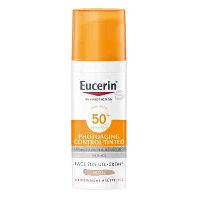 Eucerin Sun Cc Creme getönt mittel Lsf 50+  bei juvalis.de bestellen