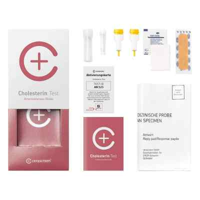 Cerascreen Cholesterin Testkit  bei juvalis.de bestellen