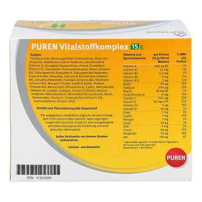 Puren Vitalstoffkomplex Beutel a 15 g Granulat  bei juvalis.de bestellen