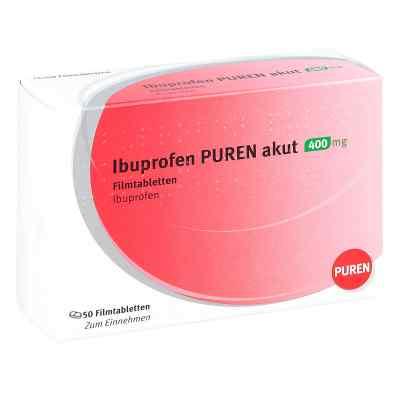 Ibuprofen Puren akut 400 mg Filmtabletten  bei juvalis.de bestellen
