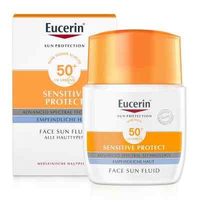 Eucerin Sun Fluid mattierend Lsf 50+  bei juvalis.de bestellen