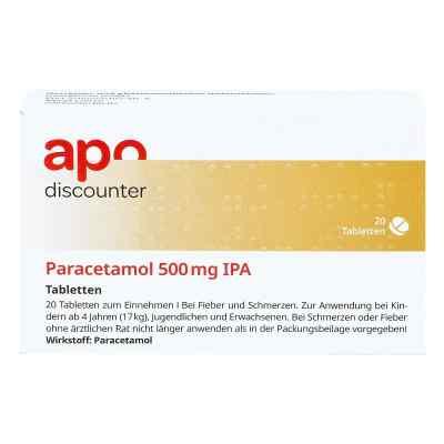 Paracetamol 500mg von apo-discounter bei Fieber und Schmerzen  bei juvalis.de bestellen