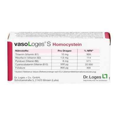 Vasologes S Homocystein Dragees  bei juvalis.de bestellen