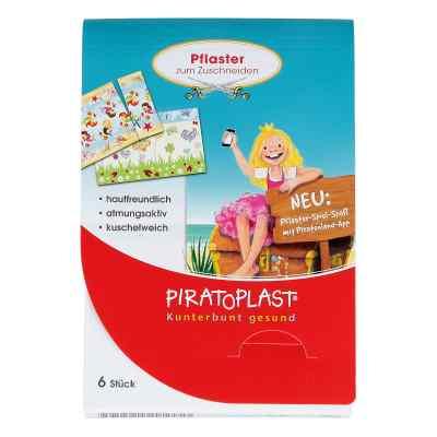 Piratoplast Mädchen Pflasterzuschnitt 6x10 cm  bei juvalis.de bestellen