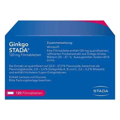 Ginkgo STADA 120mg  bei juvalis.de bestellen