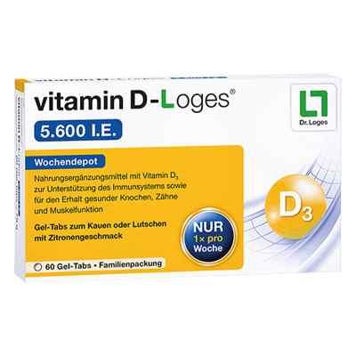 Vitamin D-loges 5.600 I.e. Kautablette (n) familienpackung  bei juvalis.de bestellen