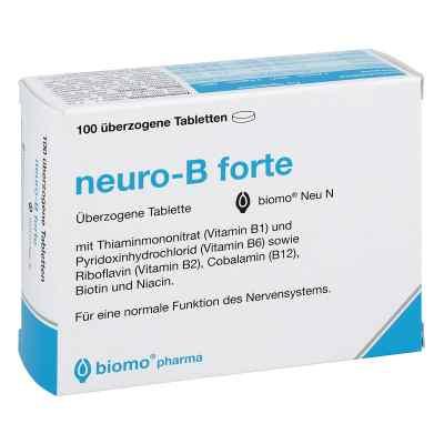 Neuro B forte biomo Neu überzogene Tabletten  bei juvalis.de bestellen