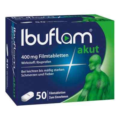 Ibuflam Akut 400 mg Ibuprofen Schmerztabletten  bei juvalis.de bestellen
