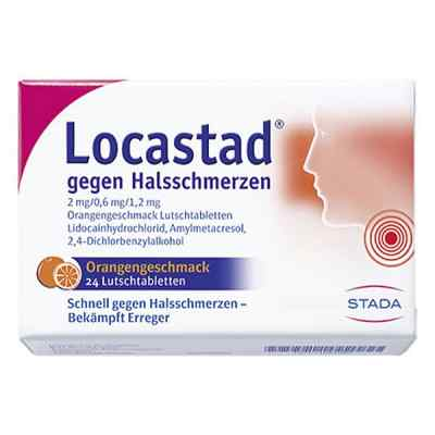 Locastad gegen Halsschmerzen 2mg/0,6mg/1,2mg Orange  bei juvalis.de bestellen