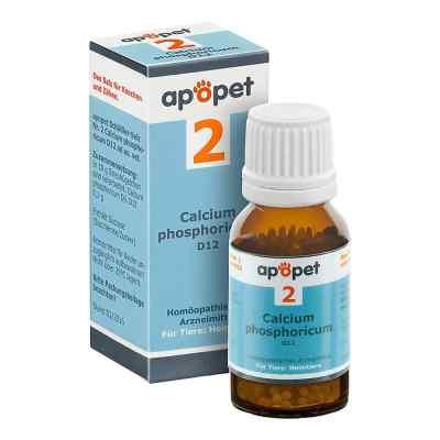 Apopet Schüssler-salz Nummer 2 Calcium phosphoricum D12 veterinä  bei juvalis.de bestellen