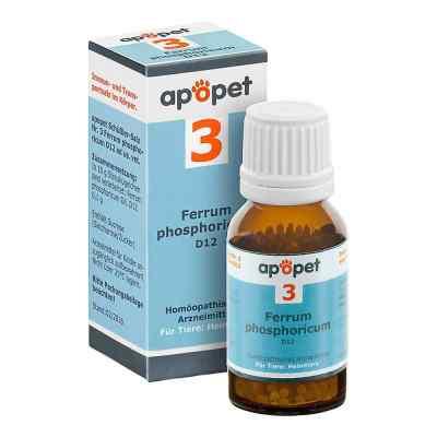 Apopet Schüssler-salz Nummer 3  Ferrum phosphoricum D  12 veteri  bei juvalis.de bestellen