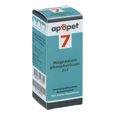 Apopet Schüssler-salz Nummer 7 Magnesium phosphoricum D12 vet  bei juvalis.de bestellen