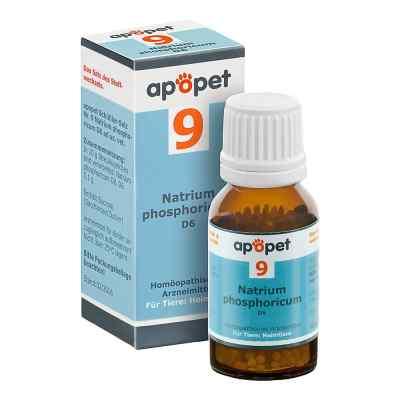 Apopet Schüssler-salz Nummer 9 Natrium phosphoricum D6 veterinär  bei juvalis.de bestellen