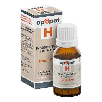 Apopet Schüssler-salze-kombination H ad usus vet.Gl.  bei juvalis.de bestellen