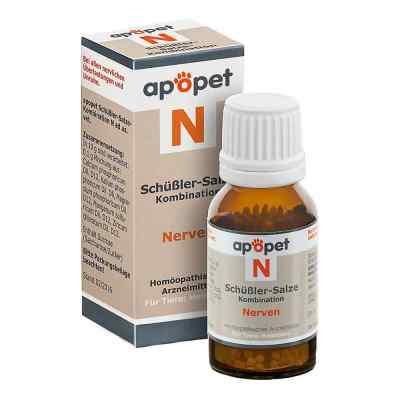 Apopet Schüssler-salze-kombination N ad usus vet.Gl.  bei juvalis.de bestellen