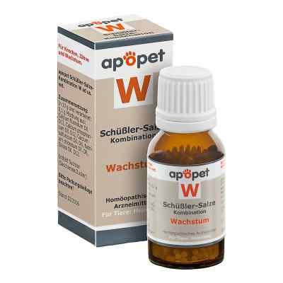 Apopet Schüssler-salze-kombination W ad usus vet.Gl.  bei juvalis.de bestellen