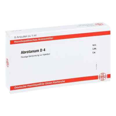 Abrotanum D 4 Ampullen  bei juvalis.de bestellen