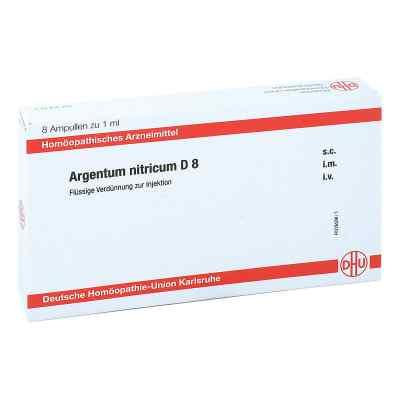 Argentum Nitricum D 8 Ampullen  bei juvalis.de bestellen