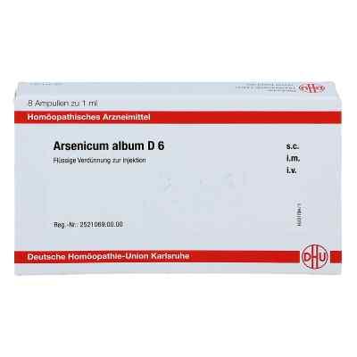 Arsenicum Album D 6 Ampullen  bei juvalis.de bestellen
