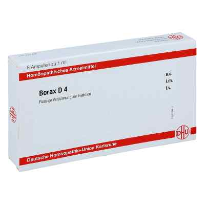 Borax D 4 Ampullen  bei juvalis.de bestellen