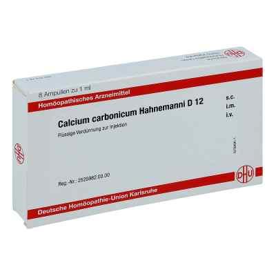 Calcium Carbonicum Hahnemanni D 12 Ampullen  bei juvalis.de bestellen