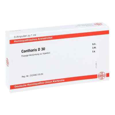 Cantharis D 30 Ampullen  bei juvalis.de bestellen