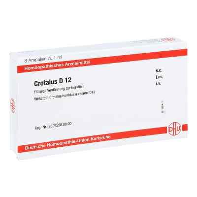 Crotalus D 12 Ampullen  bei juvalis.de bestellen