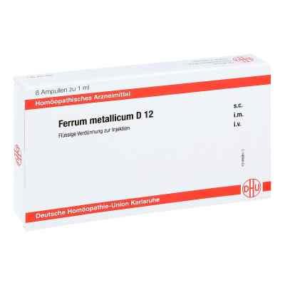 Ferrum Metallicum D 12 Ampullen  bei juvalis.de bestellen