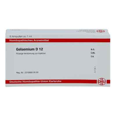 Gelsemium D 12 Ampullen  bei juvalis.de bestellen