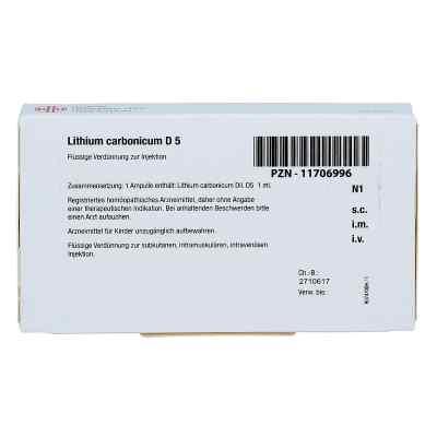 Lithium Carbonicum D 5 Ampullen  bei juvalis.de bestellen