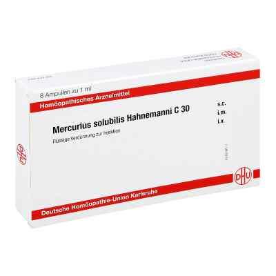 Mercurius Solubilis C 30 Ampullen Hahnemanni  bei juvalis.de bestellen