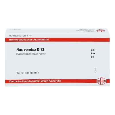 Nux Vomica D 12 Ampullen  bei juvalis.de bestellen