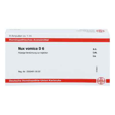 Nux Vomica D 6 Ampullen  bei juvalis.de bestellen