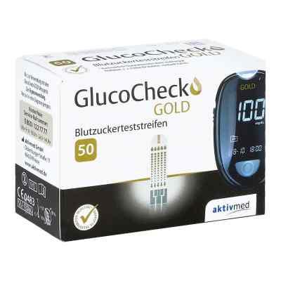 Gluco Check Gold Blutzuckerteststreifen  bei juvalis.de bestellen