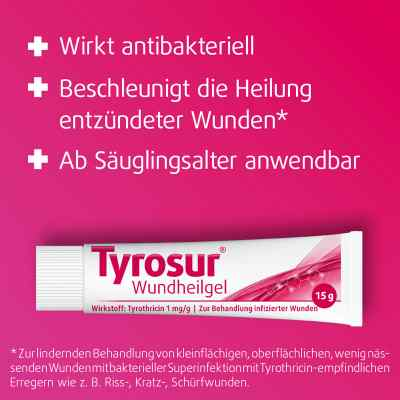 Tyrosur Wundheilgel  bei juvalis.de bestellen