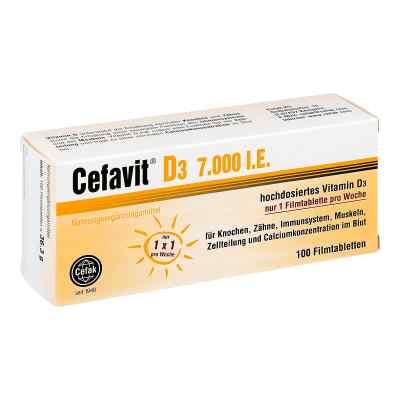 Cefavit D3 7.000 I.e. Filmtabletten  bei juvalis.de bestellen