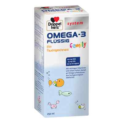 Doppelherz Omega-3 family flüssig system  bei juvalis.de bestellen