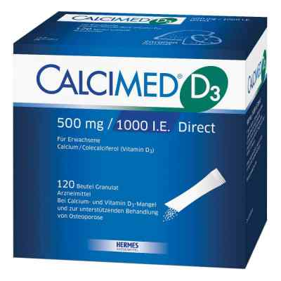 Calcimed D3 500mg/1000 I.E. Direct  bei juvalis.de bestellen